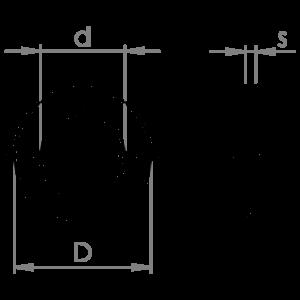 Flat washers narrow band ISO 7092 HV 200